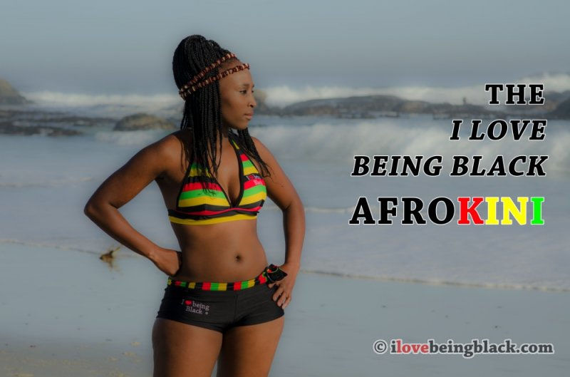 Afro-kini Bliss Halter/Shorts [LIMITED EDITION] - Click Image to Close