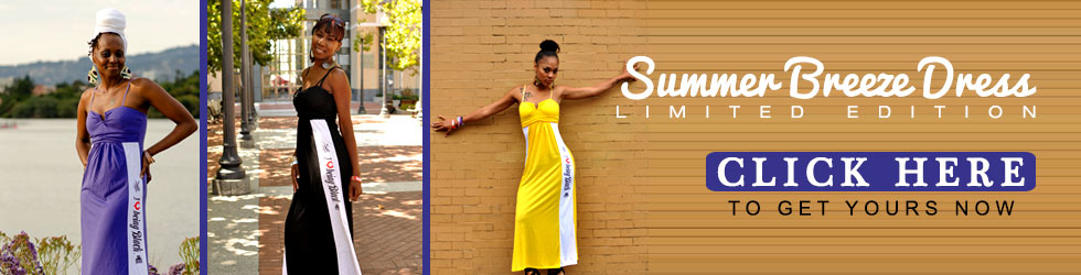 Introducing the I Love Being Black Summer Breeze Dress!