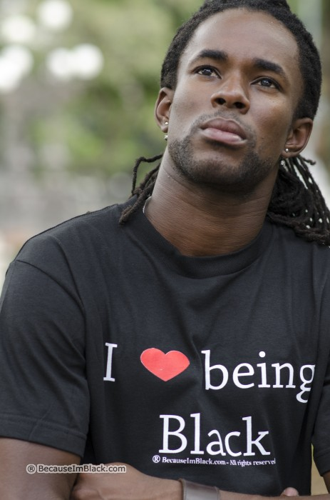 Black T-shirt [blacktee] - $18.50 : I Love Being Black ...