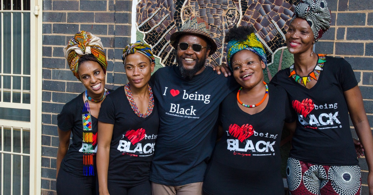 I Love Being Black, Positivity Awareness Action-8561