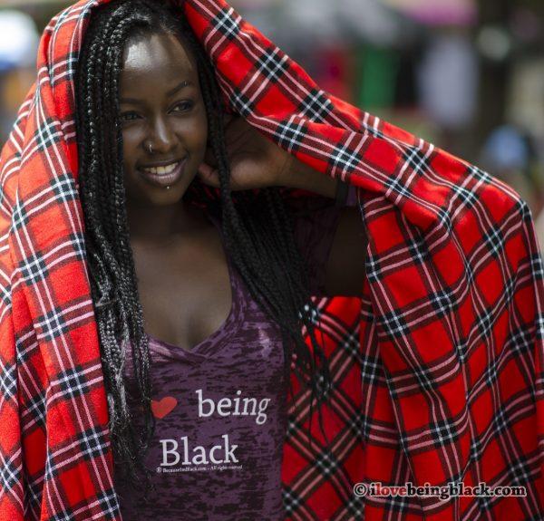 I love being Black - Burnout tee