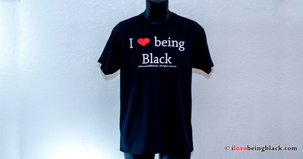 Classic Tee - I Love Being Black