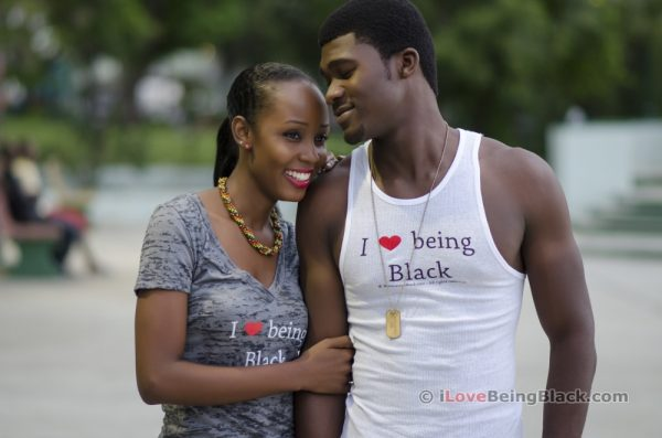 I love being Black - Burnout tee