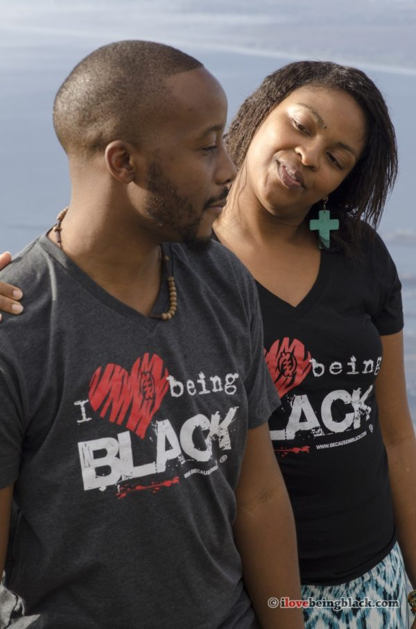 I love being Black - Vintage tee