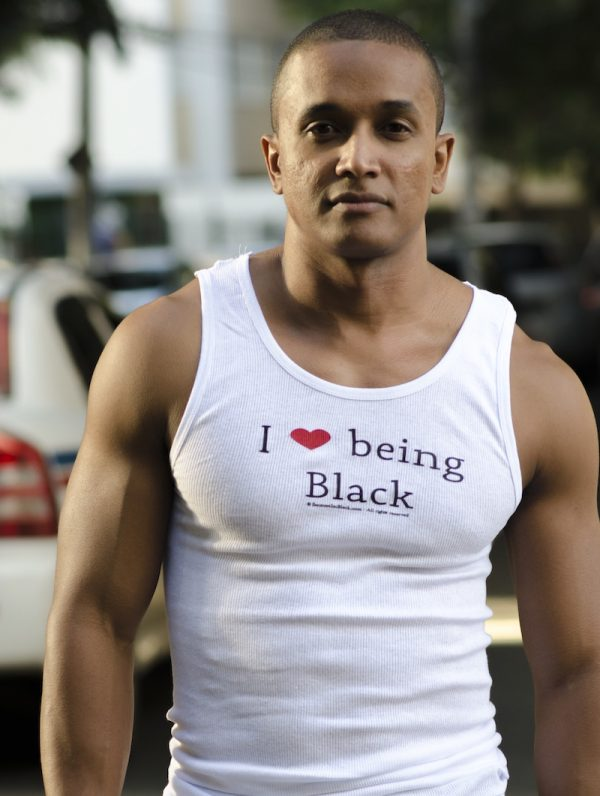 tuff tank - I love being Black