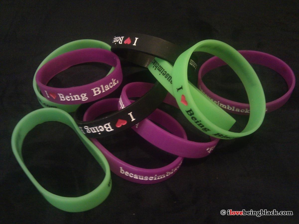Wristband I Love Being Black - I Love Being Black-9430