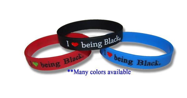 I Love Being Black - Wristbands