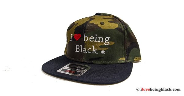 Camouflage SnapBlack hat