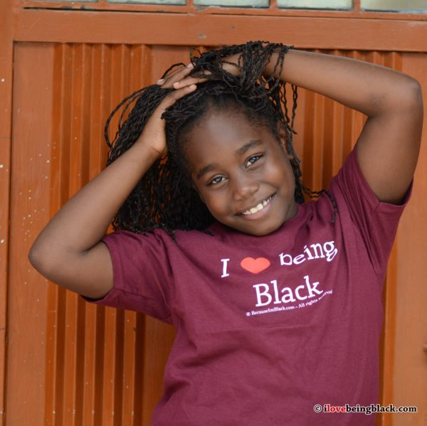 Youth Tee - I Love Being Black