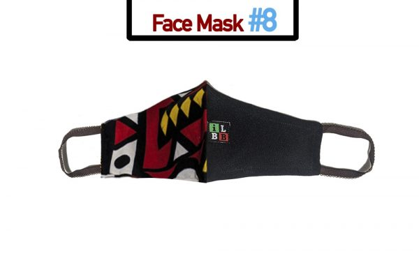 African print fabric youth face mask coronavirus covid19