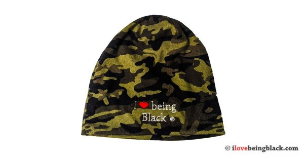 I love being Black - Camouflage beanie