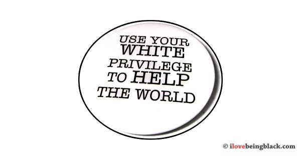 White privilege button