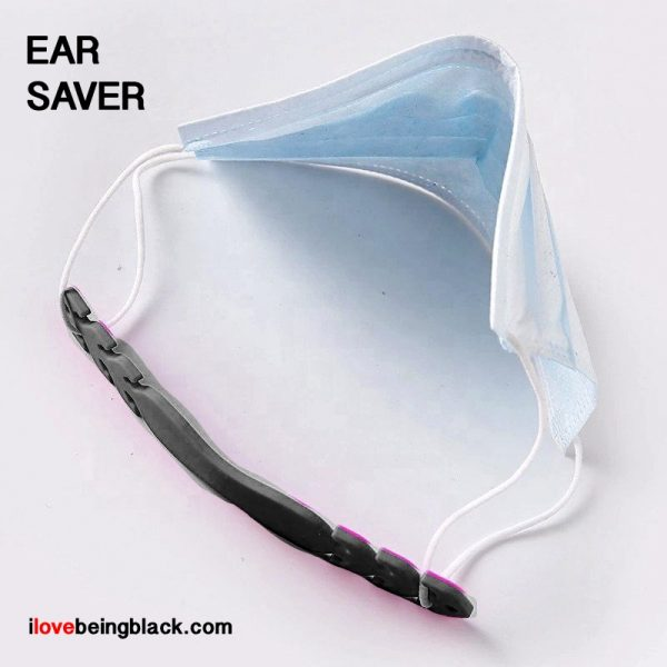 Ear saver for face masks - example