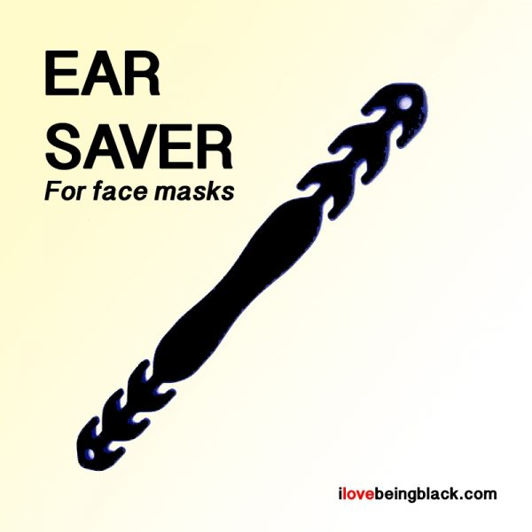 Ear saver for face masks