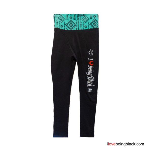 Jazzy high waisted yoga pants